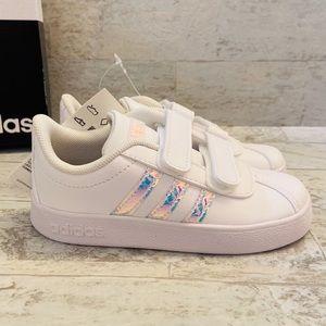 Adidas girls VL Court Velcro sneakers